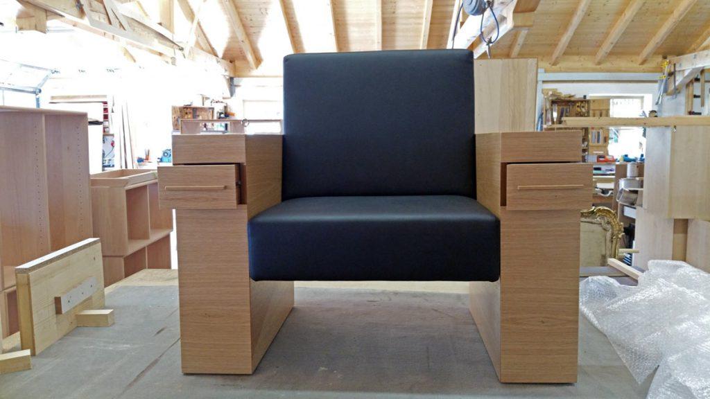 Gesellenstück Sessel